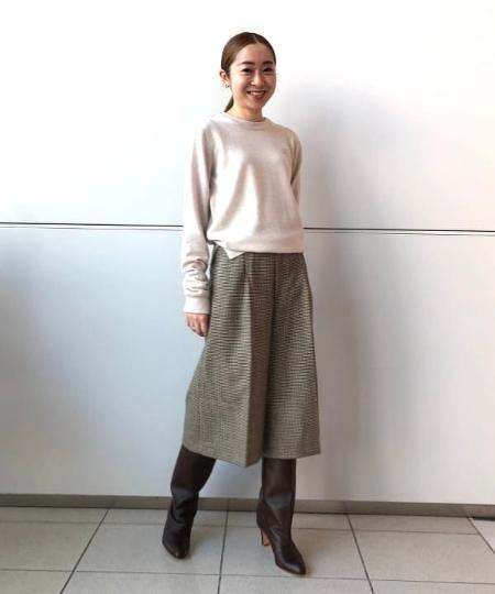 Demi-Luxe BEAMSのNEBULONI E / ナッパレザー ロングブーツを使ったコーディネートを紹介します。|Rakuten Fashion(楽天ファッション/旧楽天ブランドアベニュー)1048551
