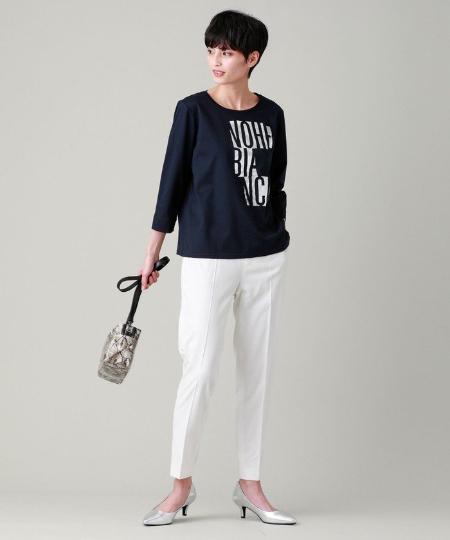 EVEX by KRIZIAの*eclat掲載*キャリーマンテーパードパンツを使ったコーディネートを紹介します。|Rakuten Fashion(楽天ファッション/旧楽天ブランドアベニュー)1048600