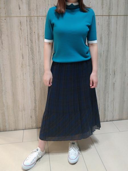 MACKINTOSH PHILOSOPHYのボイルチェックスカートを使ったコーディネートを紹介します。 Rakuten Fashion(楽天ファッション/旧楽天ブランドアベニュー)1048593