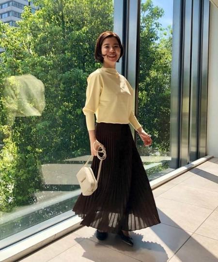 Demi-Luxe BEAMSのTOFF&LOADSTONE / レヴューリザード ミニショルダーバッグを使ったコーディネートを紹介します。|Rakuten Fashion(楽天ファッション/旧楽天ブランドアベニュー)1048840