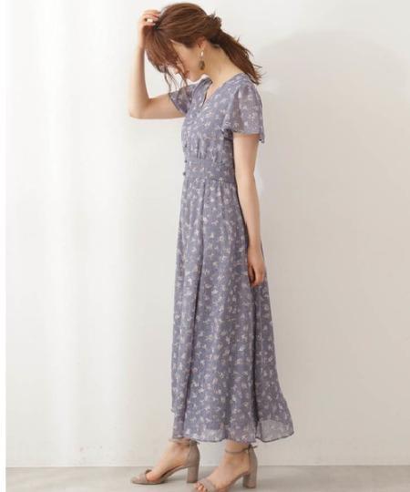 PROPORTION BODY DRESSINGの《EDIT COLOGNE》ヴィンテージフラワープリントワンピースを使ったコーディネートを紹介します。|Rakuten Fashion(楽天ファッション/旧楽天ブランドアベニュー)1048875