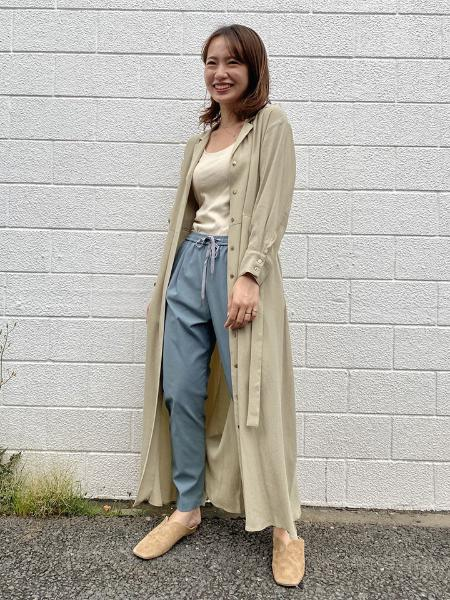 SLOBE IENAのフライスブラキャミソールを使ったコーディネートを紹介します。|Rakuten Fashion(楽天ファッション/旧楽天ブランドアベニュー)1049270