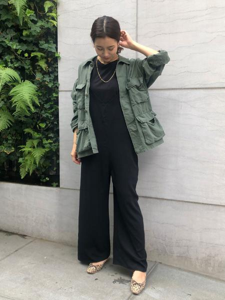 SLOBE IENAのSLOBE IENA スクエアステッチバレエシューズ◆を使ったコーディネートを紹介します。 Rakuten Fashion(楽天ファッション/旧楽天ブランドアベニュー)1049275