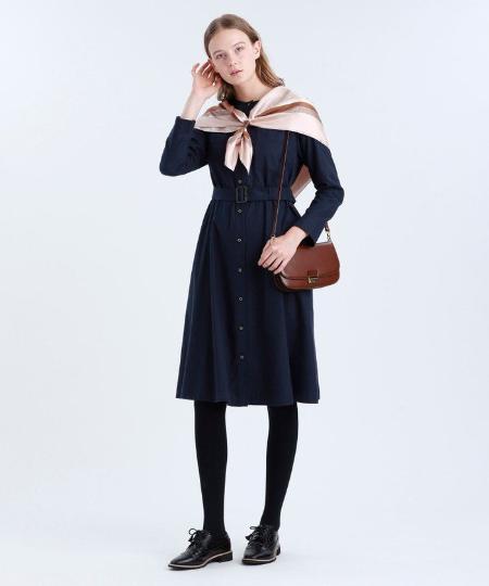MACKINTOSH PHILOSOPHYのピーチビエラワンピースを使ったコーディネートを紹介します。|Rakuten Fashion(楽天ファッション/旧楽天ブランドアベニュー)1049988