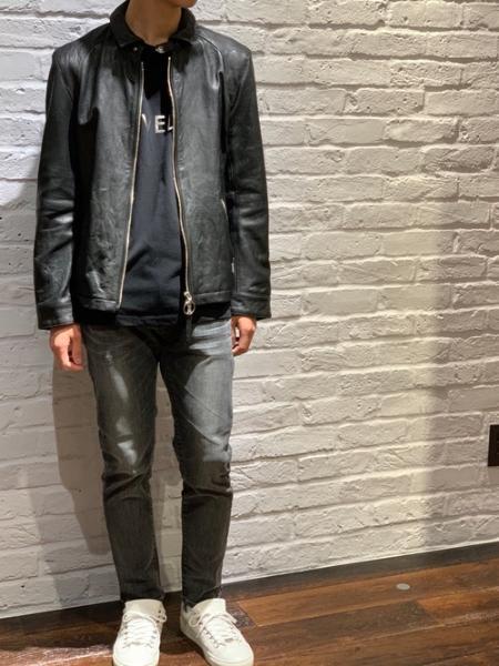 LOVELESSのウォッシュドレザー ジャケットを使ったコーディネートを紹介します。 Rakuten Fashion(楽天ファッション/旧楽天ブランドアベニュー)1049979
