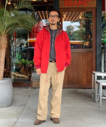 BEAMS MENのBEAMS PLUS / ウエストポイントクロス ミリタリー トラウザーズを使ったコーディネートを紹介します。 Rakuten Fashion(楽天ファッション/旧楽天ブランドアベニュー)1051068