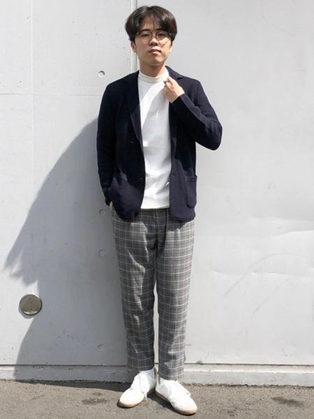 SHIPSの【SHIPS any別注】gim: 2B ニットジャケット◇を使ったコーディネートを紹介します。|Rakuten Fashion(楽天ファッション/旧楽天ブランドアベニュー)1051113