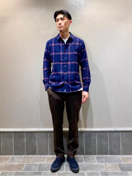 417 EDIFICEの【CONVERSE / コンバース】 CS LOAFERS SKを使ったコーディネートを紹介します。|Rakuten Fashion(楽天ファッション/旧楽天ブランドアベニュー)1051701