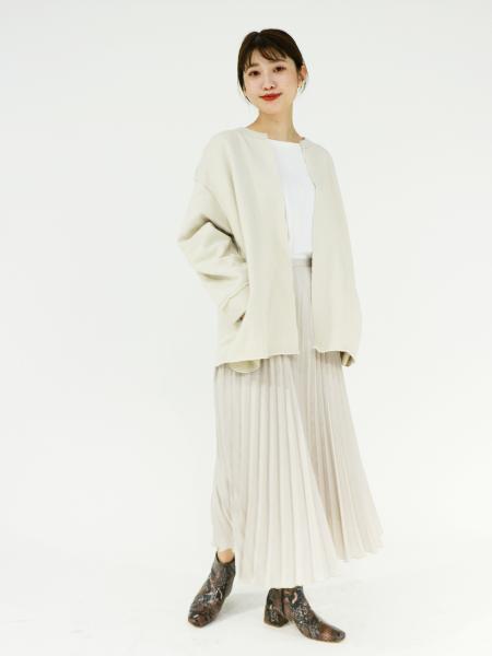 JOURNAL STANDARDのスウェーディサテンプリーツスカート◆を使ったコーディネートを紹介します。|Rakuten Fashion(楽天ファッション/旧楽天ブランドアベニュー)1051907