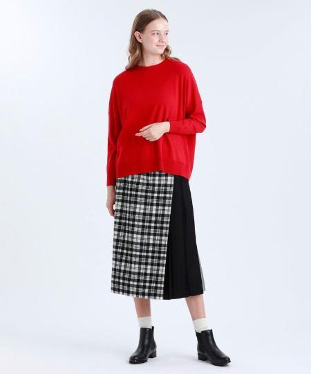 MACKINTOSH PHILOSOPHYのドロップショルダーニットを使ったコーディネートを紹介します。 Rakuten Fashion(楽天ファッション/旧楽天ブランドアベニュー)1052099
