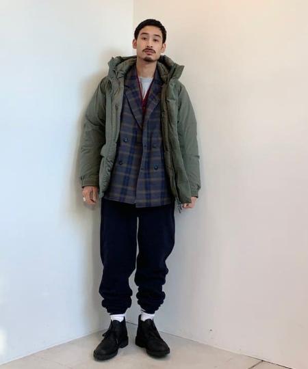 BEAMS MENのBEAMS / オンブレ チェック ダブルブレスト ジャケットを使ったコーディネートを紹介します。|Rakuten Fashion(楽天ファッション/旧楽天ブランドアベニュー)1052229