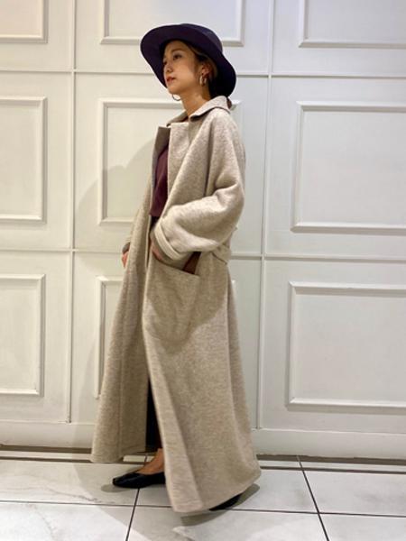 Rouge vif la cleのWフェイスジャージーコートを使ったコーディネートを紹介します。|Rakuten Fashion(楽天ファッション/旧楽天ブランドアベニュー)1052460