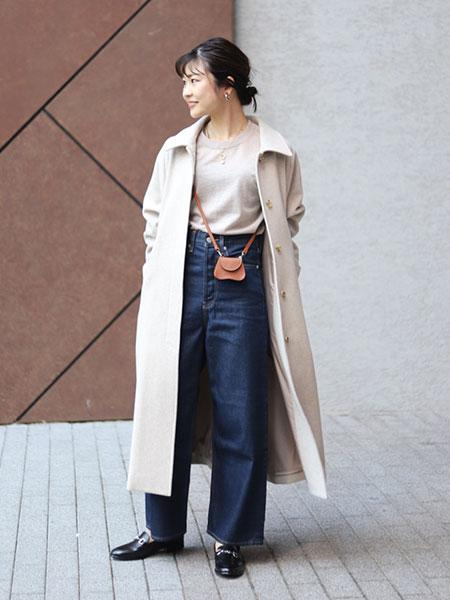 SLOBE IENAのSLOBE IENA ビットローファー◆を使ったコーディネートを紹介します。 Rakuten Fashion(楽天ファッション/旧楽天ブランドアベニュー)1052641