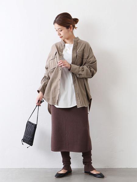 JOURNAL STANDARDのシャツコールバンドカラーシャツ◆を使ったコーディネートを紹介します。 Rakuten Fashion(楽天ファッション/旧楽天ブランドアベニュー)1052657
