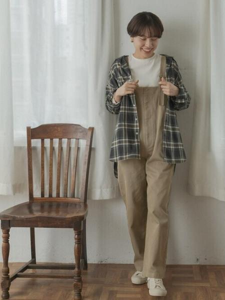 URBAN RESEARCH DOORSのFORK&SPOON オーガニックローンチェックシャツを使ったコーディネートを紹介します。|Rakuten Fashion(楽天ファッション/旧楽天ブランドアベニュー)1052673