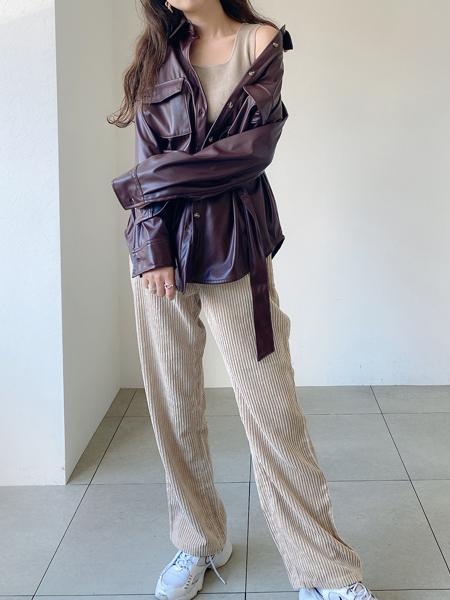UNRELISHのCPOシャツハオリを使ったコーディネートを紹介します。|Rakuten Fashion(楽天ファッション/旧楽天ブランドアベニュー)1053087