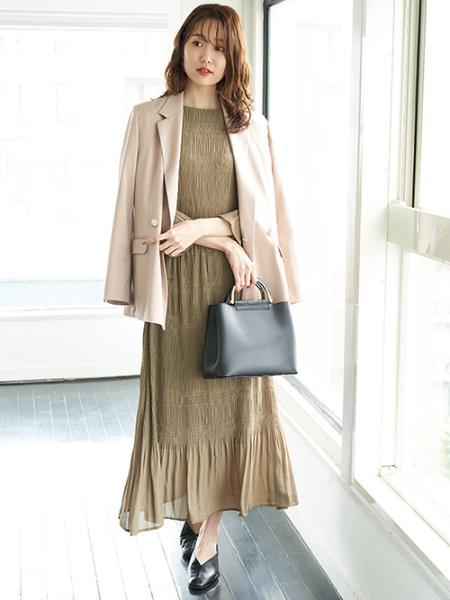 ROPE' PICNICの【WEB限定サイズ】センターシームバブーシュシューズを使ったコーディネートを紹介します。|Rakuten Fashion(楽天ファッション/旧楽天ブランドアベニュー)1053212