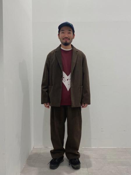 JOURNAL STANDARD relumeのテックコーデュロイ オーバルジャケットを使ったコーディネートを紹介します。|Rakuten Fashion(楽天ファッション/旧楽天ブランドアベニュー)1053340