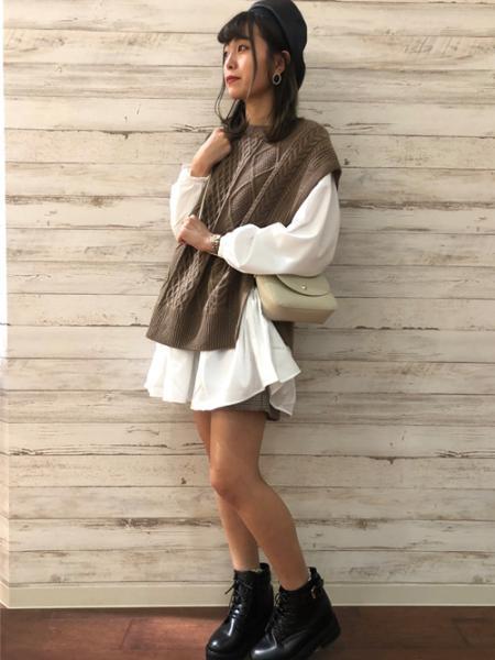 INGNIのアソートベレー帽を使ったコーディネートを紹介します。 Rakuten Fashion(楽天ファッション/旧楽天ブランドアベニュー)1053622