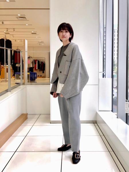 CAST:のスクエアバックルローファーを使ったコーディネートを紹介します。|Rakuten Fashion(楽天ファッション/旧楽天ブランドアベニュー)1053822