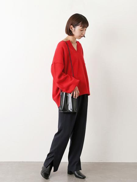 JOURNAL STANDARDのウールカシミヤスキッパーニット◆を使ったコーディネートを紹介します。|Rakuten Fashion(楽天ファッション/旧楽天ブランドアベニュー)1053992
