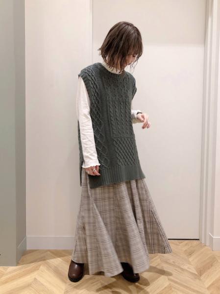 studio CLIPのガーゼテンジクHNPOを使ったコーディネートを紹介します。|Rakuten Fashion(楽天ファッション/旧楽天ブランドアベニュー)1054075