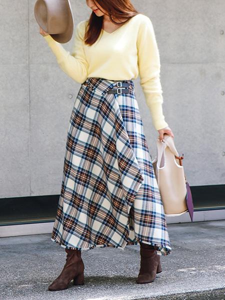 The Virgniaのレザーライクファーハンドルバッグを使ったコーディネートを紹介します。 Rakuten Fashion(楽天ファッション/旧楽天ブランドアベニュー)1054358