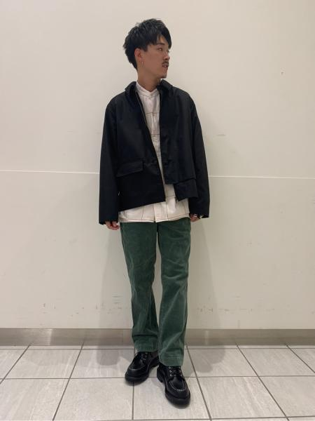 417 EDIFICEのコーデュロイブッチャー WORK PTを使ったコーディネートを紹介します。|Rakuten Fashion(楽天ファッション/旧楽天ブランドアベニュー)1055312