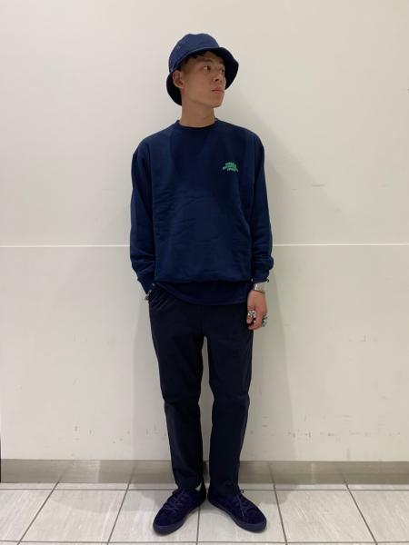 417 EDIFICEのカラーブッチャーパンツを使ったコーディネートを紹介します。|Rakuten Fashion(楽天ファッション/旧楽天ブランドアベニュー)1055314