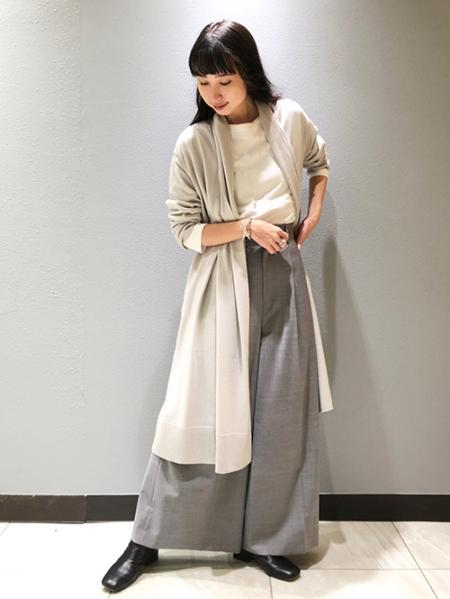 JOURNAL STANDARDのウールテンジクガウンカーディガンを使ったコーディネートを紹介します。|Rakuten Fashion(楽天ファッション/旧楽天ブランドアベニュー)1055405