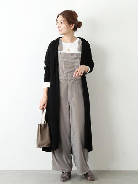 JOURNAL STANDARDのベルベットオーバーオール◆を使ったコーディネートを紹介します。|Rakuten Fashion(楽天ファッション/旧楽天ブランドアベニュー)1055410