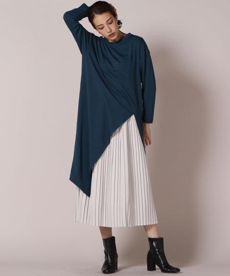 Ketty Cherieのアシンメトリーカットソーを使ったコーディネートを紹介します。 Rakuten Fashion(楽天ファッション/旧楽天ブランドアベニュー)1055570