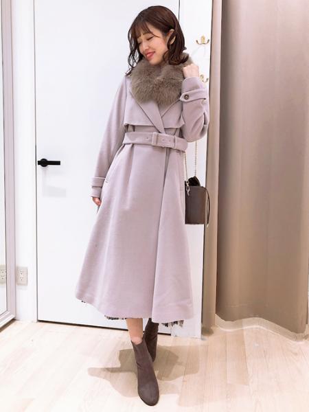 Noelaの巾着スクエアバッグを使ったコーディネートを紹介します。|Rakuten Fashion(楽天ファッション/旧楽天ブランドアベニュー)1056100