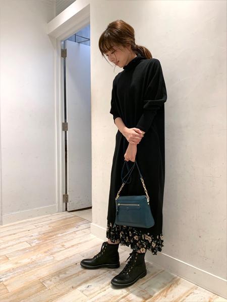 AU BANNISTERのラバーソール編上げブーツを使ったコーディネートを紹介します。|Rakuten Fashion(楽天ファッション/旧楽天ブランドアベニュー)1056206