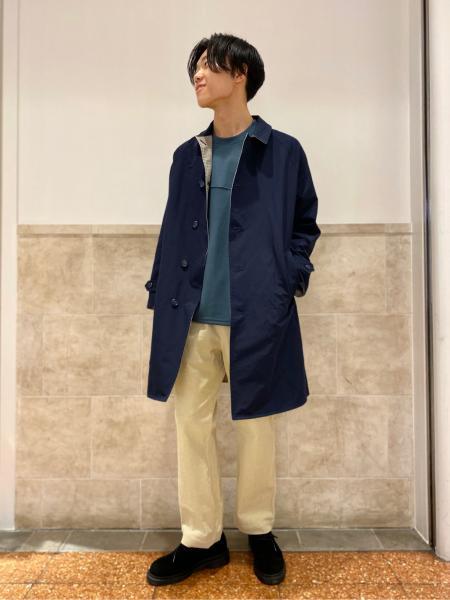 417 EDIFICEのコーデュロイブッチャー WORK PTを使ったコーディネートを紹介します。|Rakuten Fashion(楽天ファッション/旧楽天ブランドアベニュー)1056404
