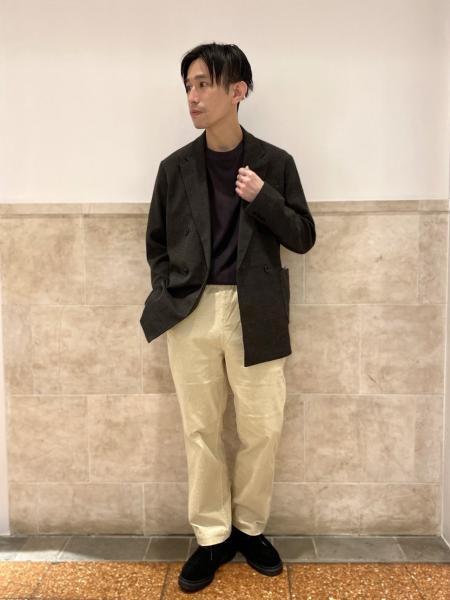 417 EDIFICEの【ユニセックス】コーデュロイブッチャーワークパンツを使ったコーディネートを紹介します。|Rakuten Fashion(楽天ファッション/旧楽天ブランドアベニュー)1056412