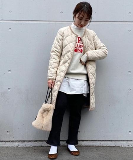 SHIPSのSHIPS any: リブレギンスパンツを使ったコーディネートを紹介します。|Rakuten Fashion(楽天ファッション/旧楽天ブランドアベニュー)1056506