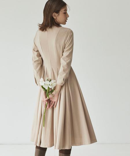kettyの前後タックワンピースを使ったコーディネートを紹介します。 Rakuten Fashion(楽天ファッション/旧楽天ブランドアベニュー)1056525