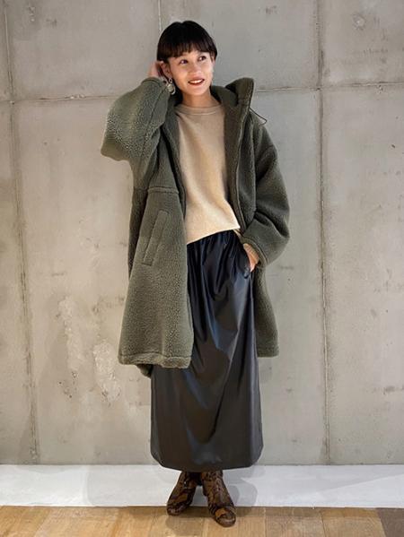 JOURNAL STANDARDのウールカシミヤチュニック◆を使ったコーディネートを紹介します。|Rakuten Fashion(楽天ファッション/旧楽天ブランドアベニュー)1056620