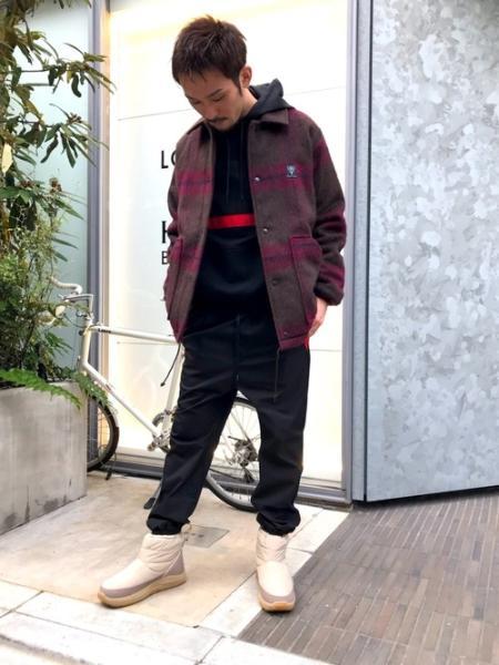 LOVELESSの【Education from Youngmachines】バイマテリアル コンビパーカーを使ったコーディネートを紹介します。 Rakuten Fashion(楽天ファッション/旧楽天ブランドアベニュー)1056929