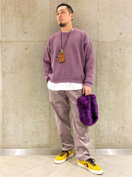 JOURNAL STANDARD relumeの【20FW】CALIFORNIA コーデュロイ シェフパンツを使ったコーディネートを紹介します。|Rakuten Fashion(楽天ファッション/旧楽天ブランドアベニュー)1057057