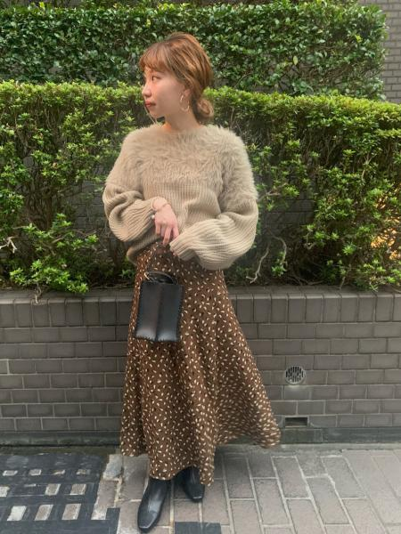 Te chichiのTe chichi/スエード調ステッチミニショルダーを使ったコーディネートを紹介します。|Rakuten Fashion(楽天ファッション/旧楽天ブランドアベニュー)1057038