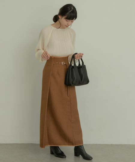 RODE SKOのMIIA プチダブルポケットトートを使ったコーディネートを紹介します。|Rakuten Fashion(楽天ファッション/旧楽天ブランドアベニュー)1057089