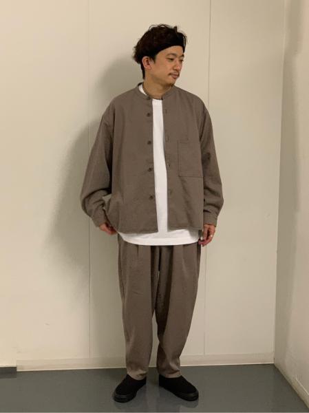 JOURNAL STANDARDの【ジャケット+パンツ2点SET】DADS オーバーサイズ ユニフォーム セットアップを使ったコーディネートを紹介します。|Rakuten Fashion(楽天ファッション/旧楽天ブランドアベニュー)1057128
