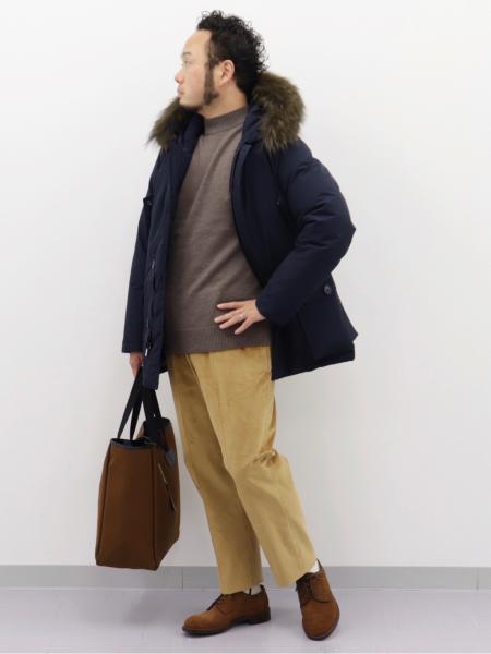 EDIFICEの5G モック ニットを使ったコーディネートを紹介します。|Rakuten Fashion(楽天ファッション/旧楽天ブランドアベニュー)1057301
