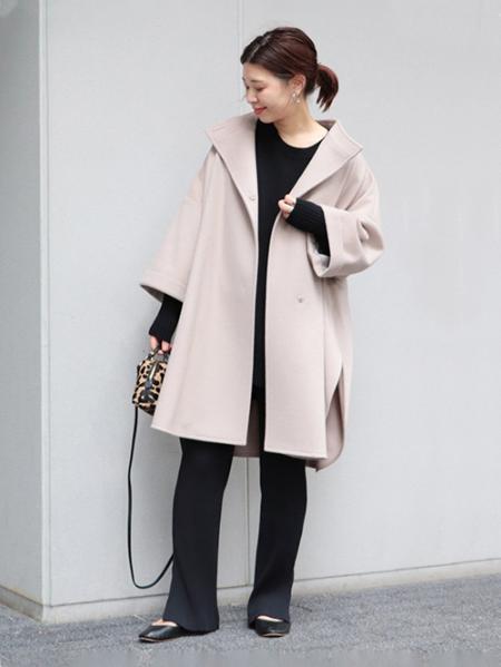 JOURNAL STANDARDのスーパー120 シングルビーバーポンチョコート◆を使ったコーディネートを紹介します。|Rakuten Fashion(楽天ファッション/旧楽天ブランドアベニュー)1057347