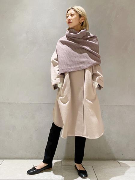 JOURNAL STANDARDのスーパー120 シングルビーバーポンチョコート◆を使ったコーディネートを紹介します。|Rakuten Fashion(楽天ファッション/旧楽天ブランドアベニュー)1057349