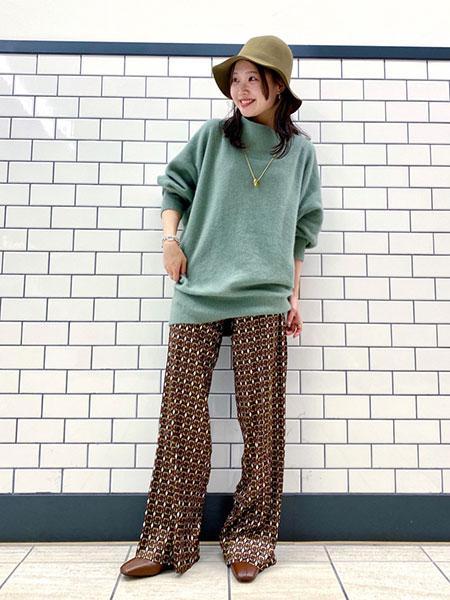 SLOBE IENAの【JEFF】SIMON Print trouserパンツ◆を使ったコーディネートを紹介します。|Rakuten Fashion(楽天ファッション/旧楽天ブランドアベニュー)1057482