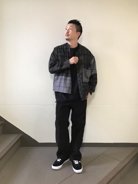 JOURNAL STANDARD relumeの【FAT SHIRT】クレイジー スタンドネルチェックシャツを使ったコーディネートを紹介します。|Rakuten Fashion(楽天ファッション/旧楽天ブランドアベニュー)1057613