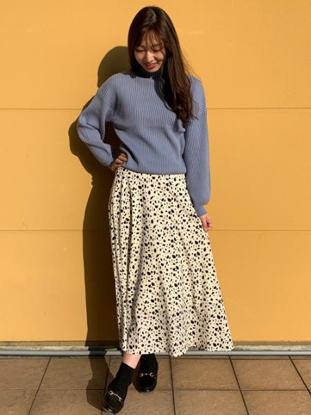 INGNIのダルメシアン柄/SKを使ったコーディネートを紹介します。|Rakuten Fashion(楽天ファッション/旧楽天ブランドアベニュー)1057661
